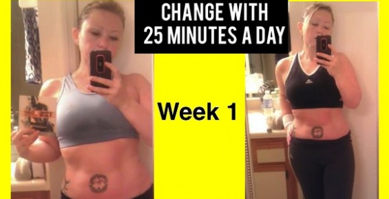 Focus T25 workout program Week 1 results