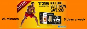 T25 workout program | Shaun T