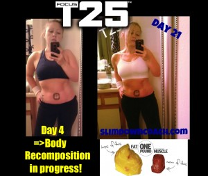 Focus T25 third week review