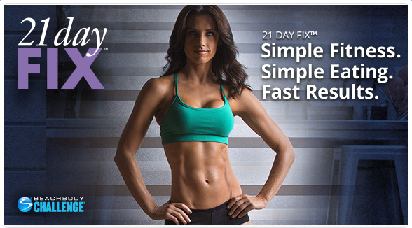 Get free shipping on the 21-day fix weight loss program